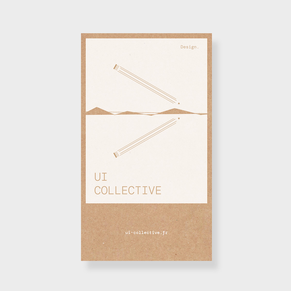 UI collective - Kraft print - Issé Ari Design