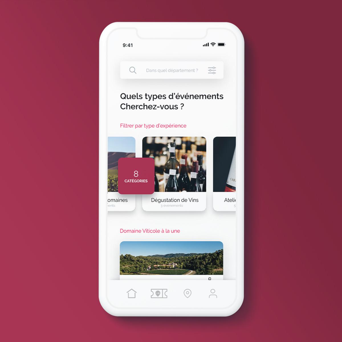 UI interaction - App - Issé Ari Design